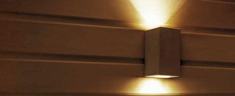 Smartline 85 LED Beleuchtung für Sauna und Dampfbad Hitl GmbH
